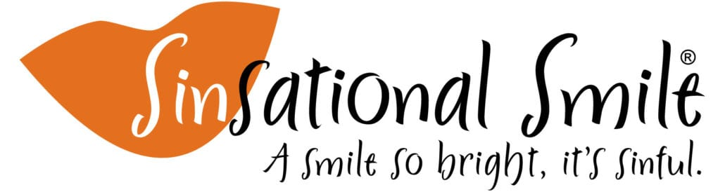 Sinsational Smile - A smile so bright it's sinful. Teeth whitening.